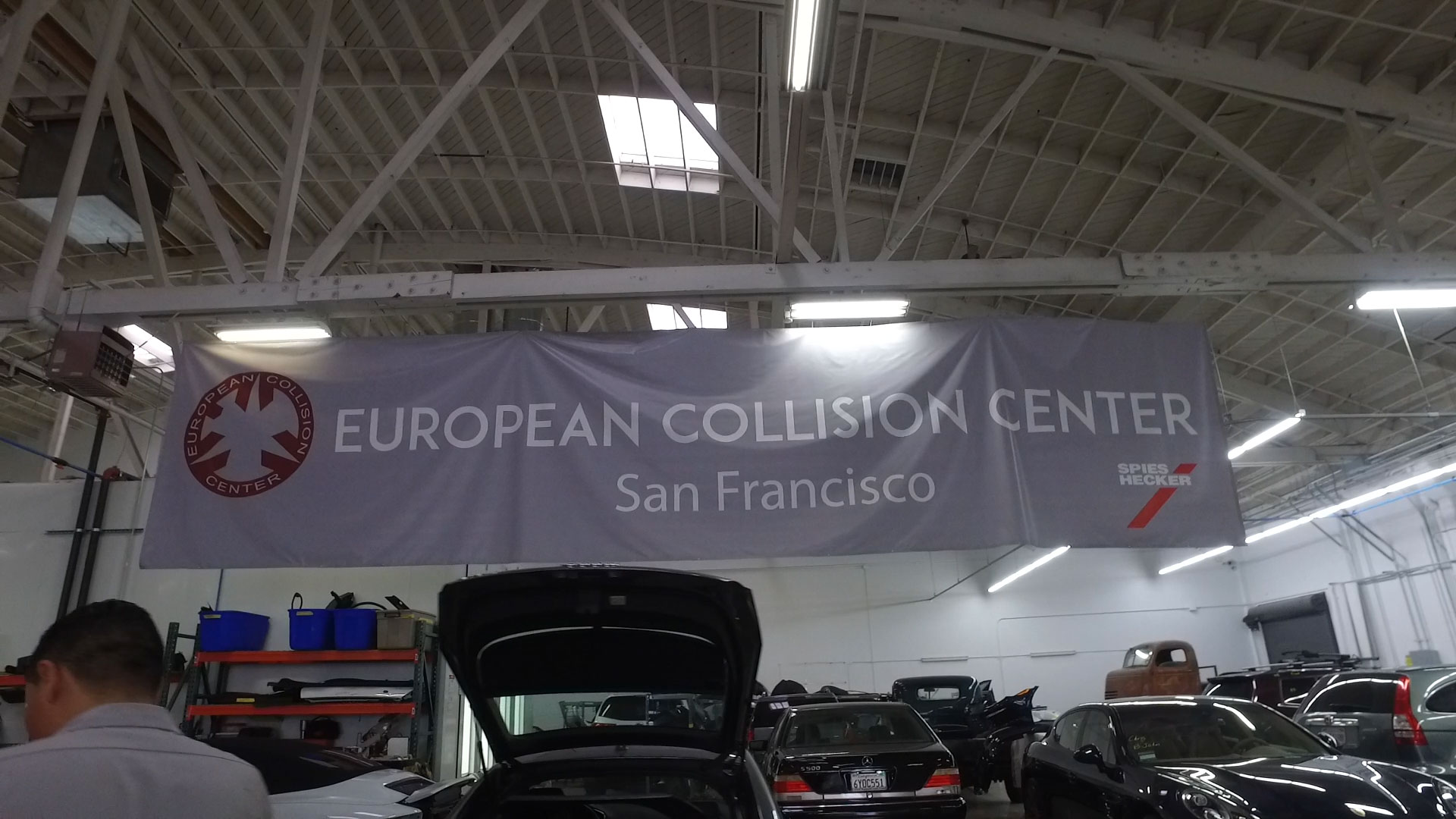 porsche authorized collision repair facility san francisco